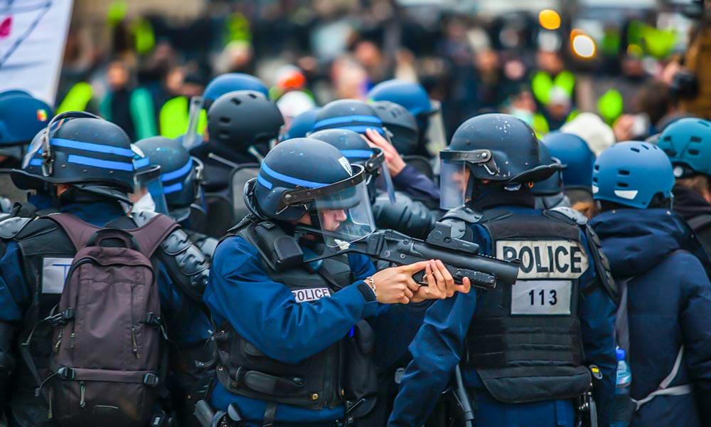Diario de la violencia policial francesa