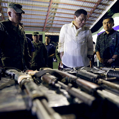 Underground Periodismo Internacional guerra drogas Filipinas Duterte
